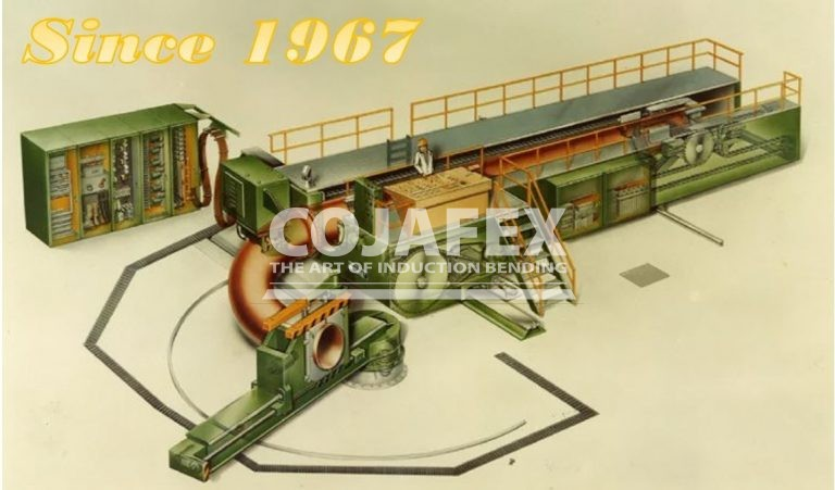 Cojafex Induction Pipe Bending machine