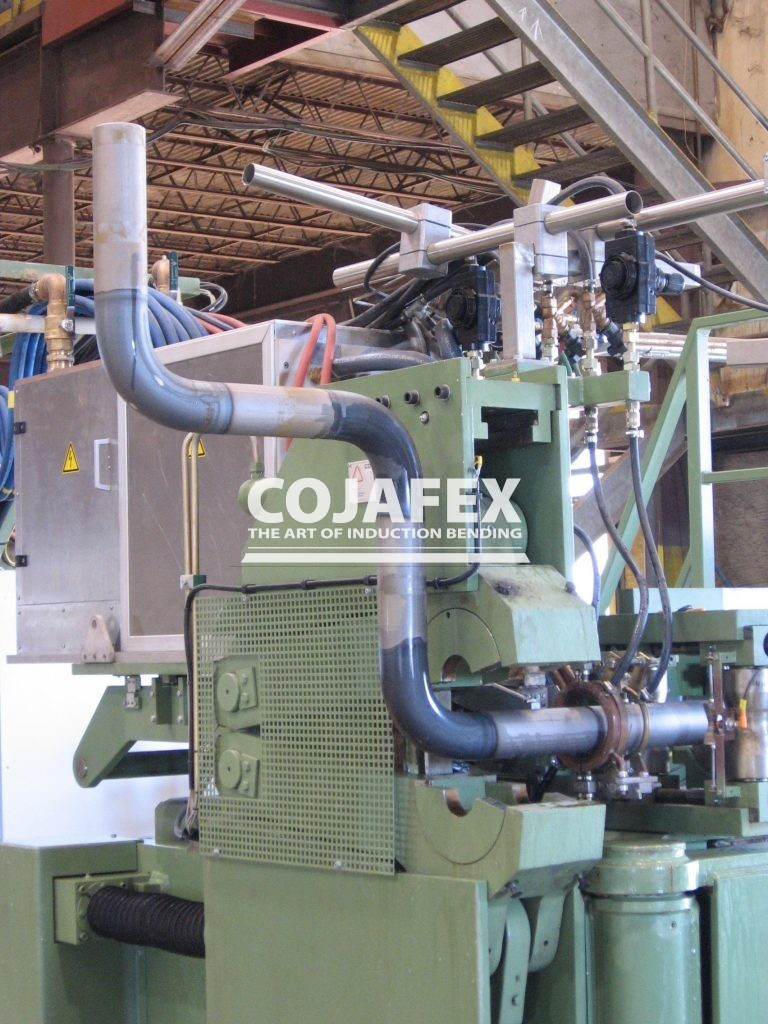 Cojafex induction pipe bending machines