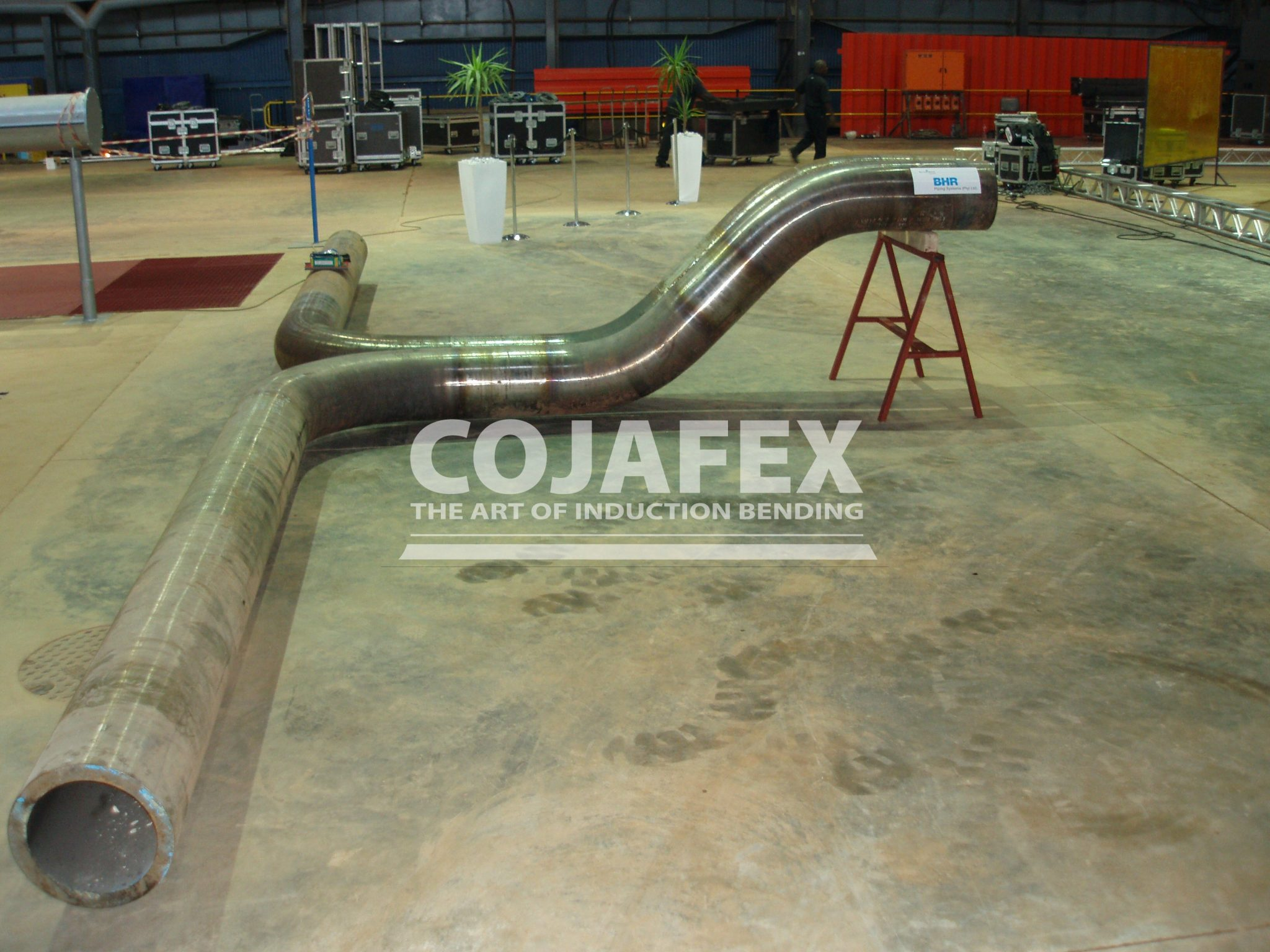 Induction Bending | Cojafex, specialists in induction bending machines